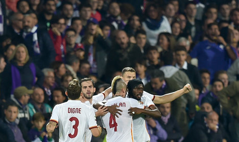 Salah and Gervinho fire Roma top of Serie A