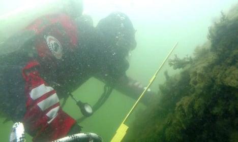 Divers find 17th-century Swedish warship