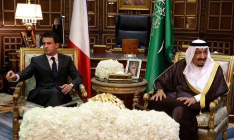 France seals €10 billion of deals with Saudis