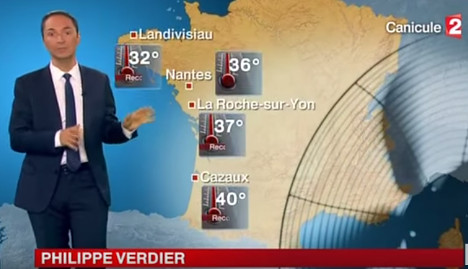 'Climate sceptic' French weatherman taken off air