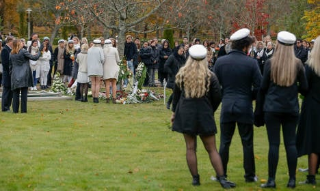 Heroic teacher's funeral takes place in Sweden