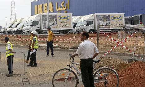 Sweden sparks protests in Morocco after Ikea row