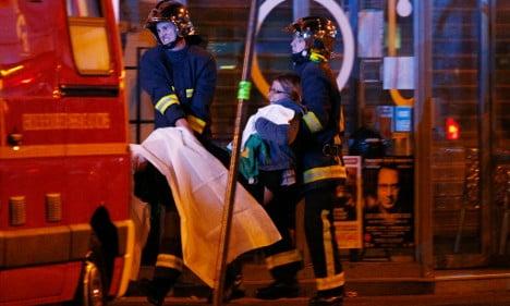 German team 'shaken, shocked' by attacks