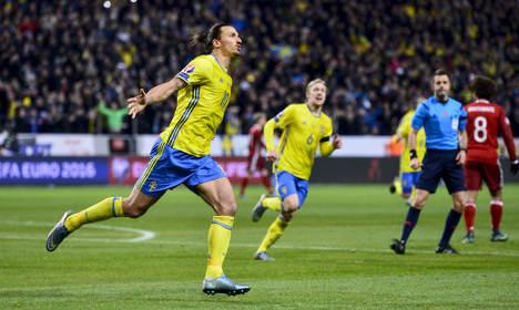Sweden edge Denmark in Euro 2016 play-off tie