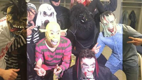 Own ghoul! FC Barcelona apologies over Getafe Halloween mask prank