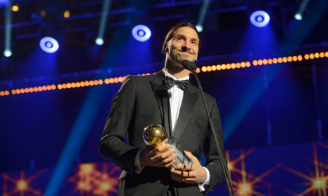 Zlatan wins record tenth Golden Ball award