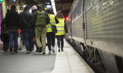 Sweden steps up push for EU refugee sharing