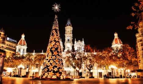It's beginning to look a lot like Christmas as season starts in Spain