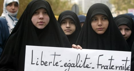 Veiled Muslim woman attacked in southern France