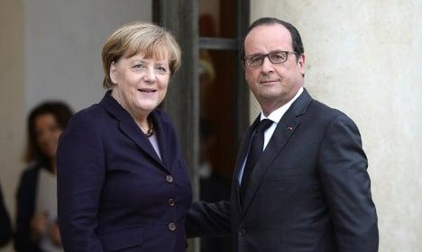 Hollande to make Isis fight plea to Merkel