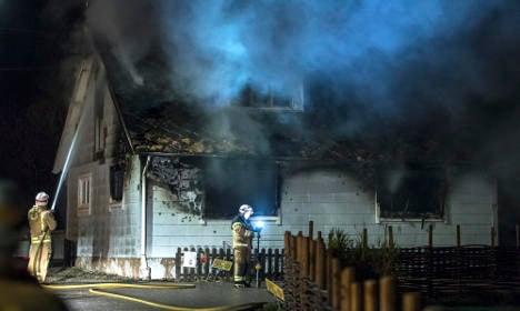 Two dead in mystery Swedish village fire