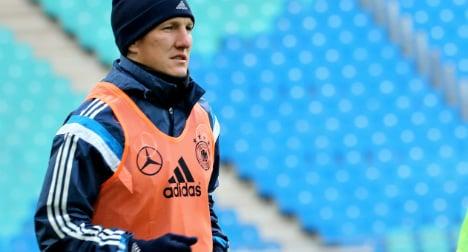 'Stunned' Schweini to miss Netherlands match