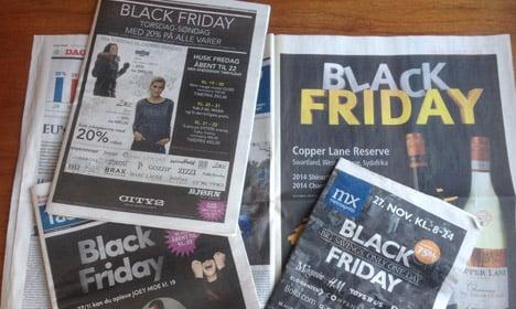 Black Friday in Denmark: The new Halloween?