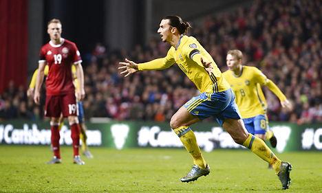 Zlatan ends Denmark's Euro 2016 hopes