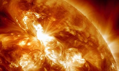 'Solar storm' grounds Swedish air traffic