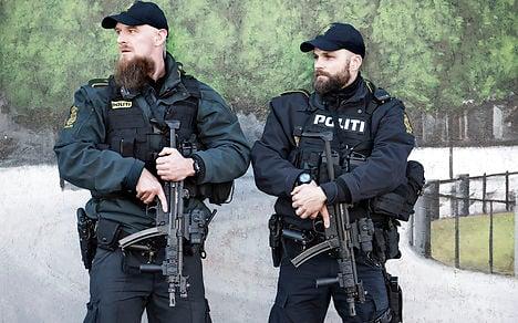 Danish police raise alert level after Paris