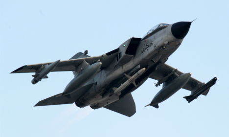 German air force will join French planes over Syria