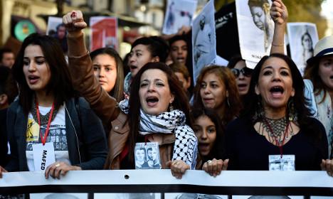 Thousands march against racism in Paris