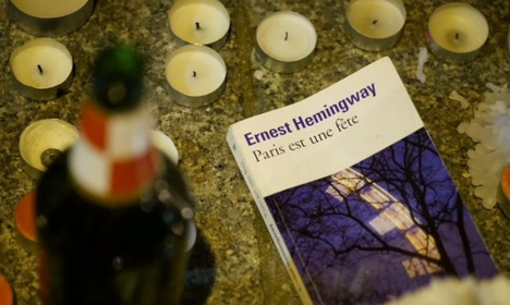 Hemingway's Paris ode becomes unity symbol