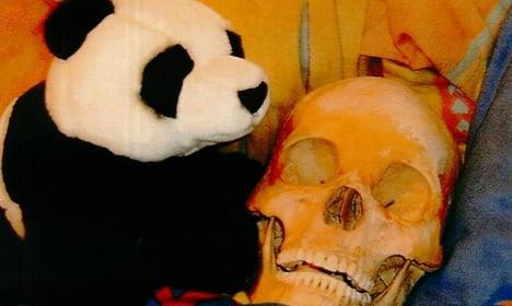 Swede wins damages over 'skeleton sex' case