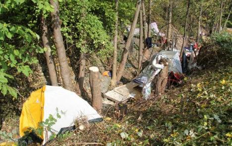 Police evict Roma camp in Dornbirn
