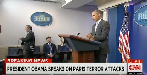 World leaders condemn Paris terrorist attacks