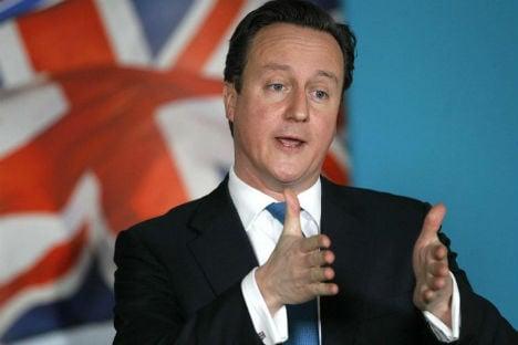 British PM in Vienna for EU reform talks