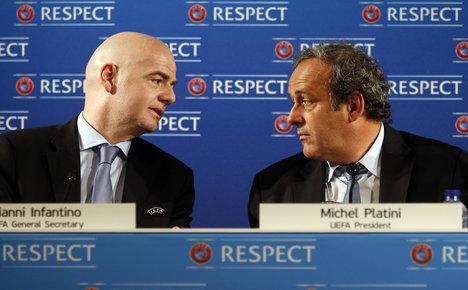 Infantino won't fight Platini for top Fifa job