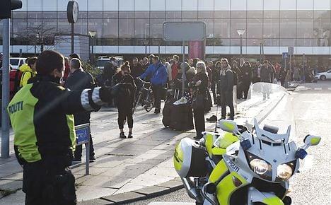 Copenhagen Airport emptied over bomb joke
