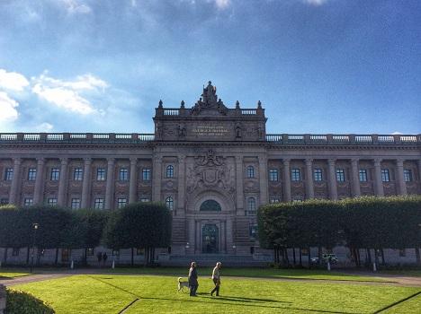 Open Democracy: study visit to Swedish Riksdag