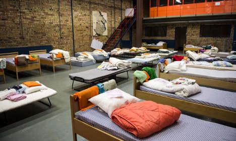 Sweden can no longer guarantee refugee beds