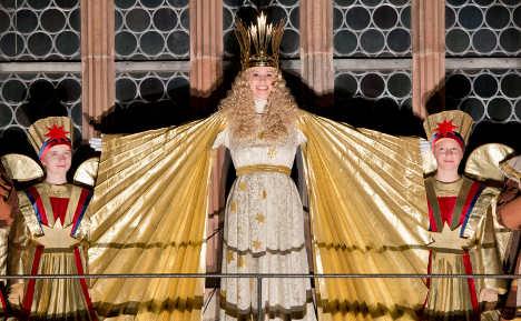 Nuremberg elects angel to run Christmas market