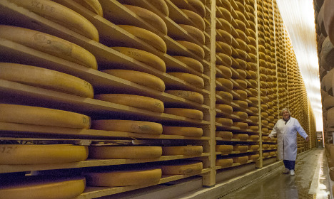 Four-tonne fromage heist stuns French police