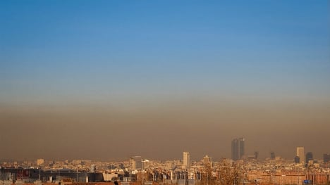 Madrid cuts speed limit for the first time ever in bid to reduce pollution