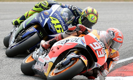 Rossi-Marquez feud fuels Italy-Spain rivalry