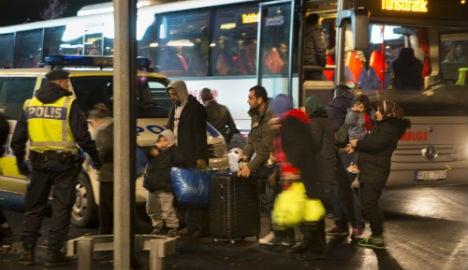Refugees beg to leave 'inhuman' Malmö shelter