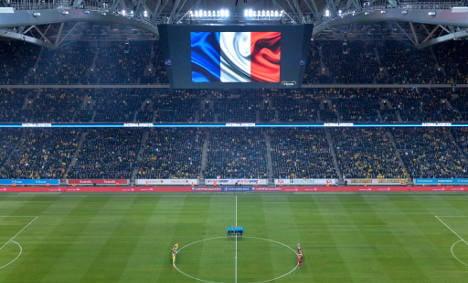 Merkel to attend German match after Paris attacks