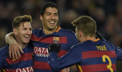 Barça play 'perfect game' to thrash Roma in Champions League clash