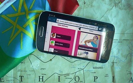 Danish app makes Ethiopian childbirth safer