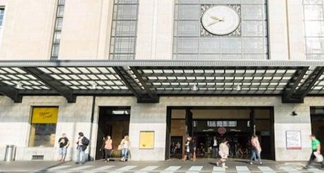 False alarm clears Geneva train station