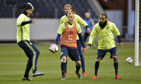 Nordic rivals gear up for Euro 2016 face-off