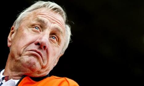'Cancer is a battle I'm convinced I'll win' insists ex-Barça star Cruyff