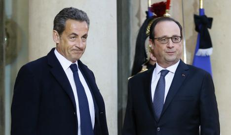 Sarkozy tears into Hollande after attacks