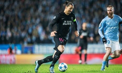 PSG cruise to victory on Zlatan's Malmö return