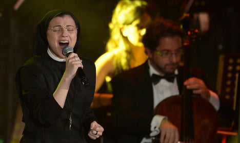 Italy's singing nun to star in 'Sister Act'