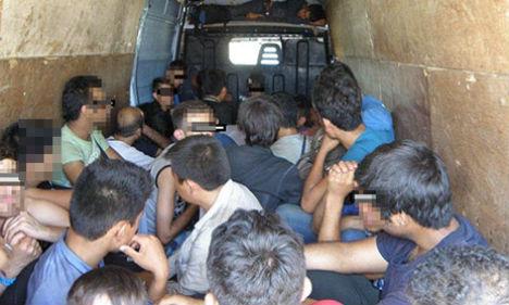 Austrian police smash people smuggling gang