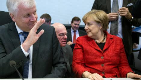Merkel announces hard- fought refugee deal