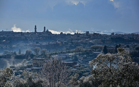 Italy set to shiver as temperature plummets
