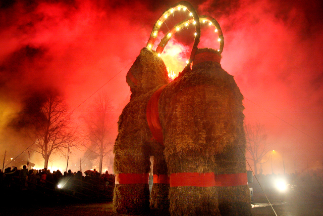 The five weirdest attacks on Sweden's arson-prone yule goat