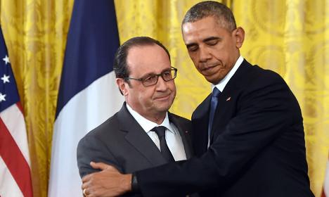 Hollande: Holding Paris summit is best response